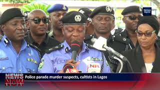 Police parade murder suspects, cultists in Lagos