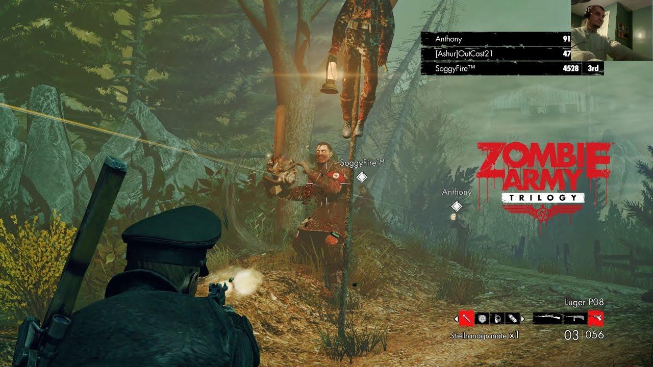 Nazi Zombie With A Chainsaw Zombie Army Trilogy Ep35 Youtube