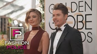 """""""Fashion Police"""" Love New Couple Kyle West and Megan Morrison   E!"""