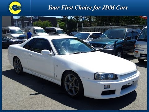 1998 Nissan Skyline R34 GT-T Turbo for sale in BC, Canada