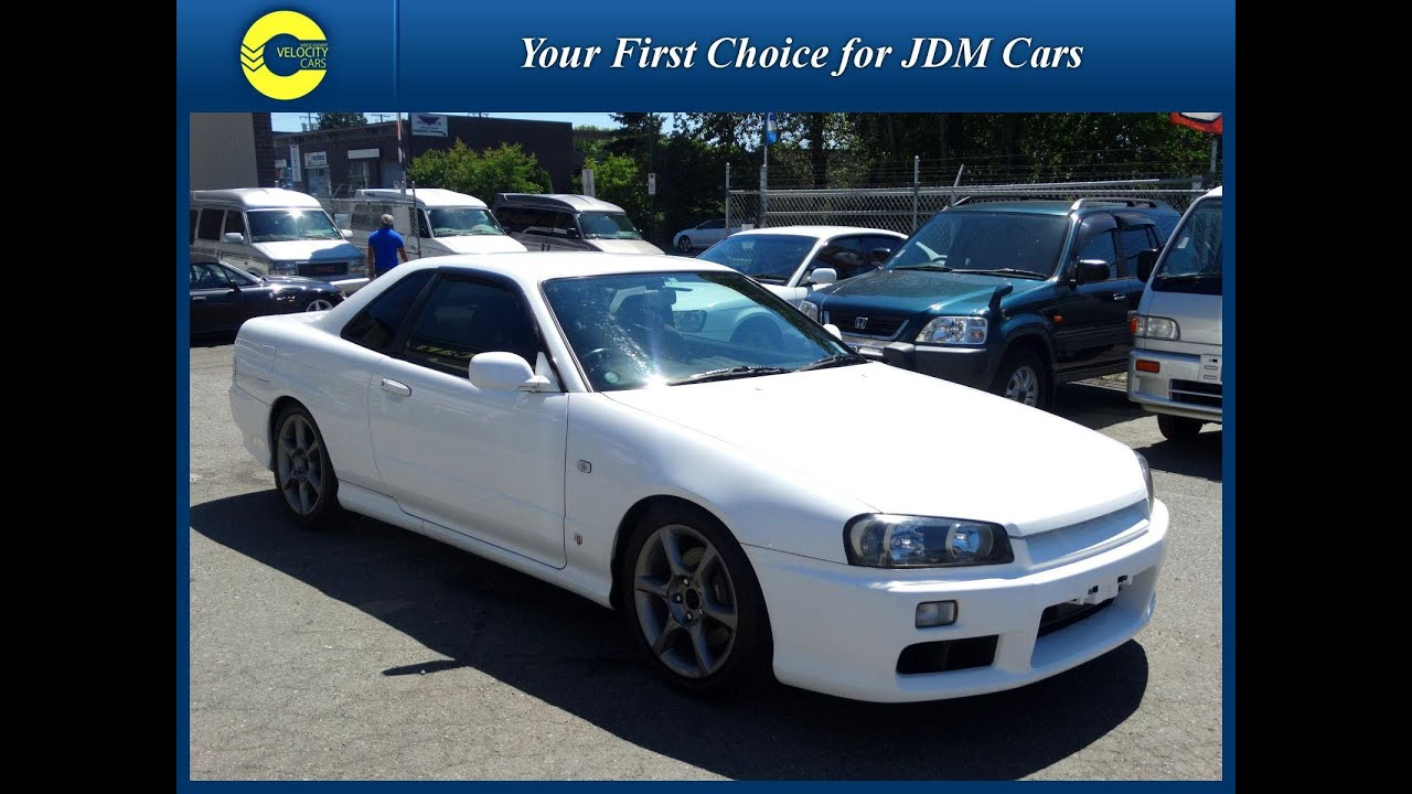 1998 Nissan Skyline R34 GTT Turbo for sale in BC Canada  YouTube