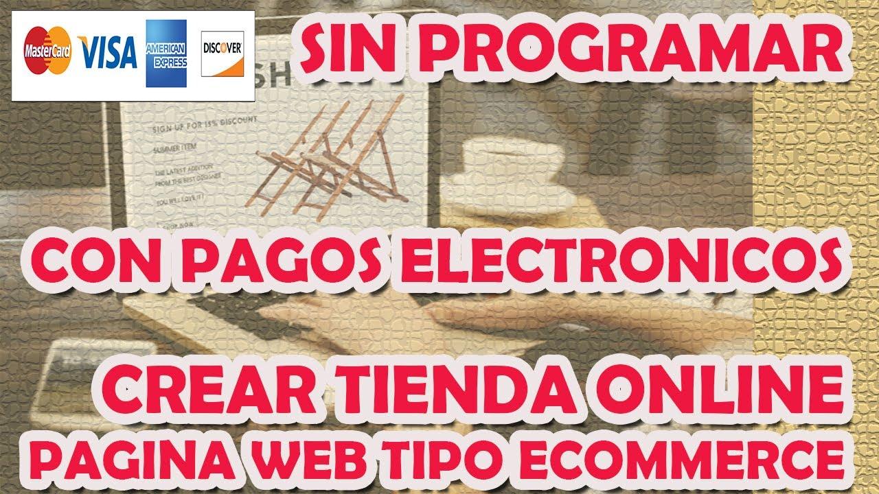 ✅🥇 COMO CREAR UNA PAGINA WEB TIPO TIENDA VIRTUAL ECOMMERCE | SIN SABER PROGRAMAR | DESDE CERO
