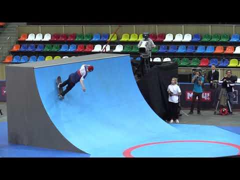Максим Лукичев qualification @ WORLD CUP SKATEBOARDING MOSCOW 2017