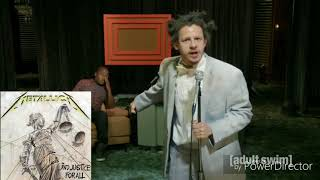 Metallica Studio Albums Portrayed by the Eric Andre Show