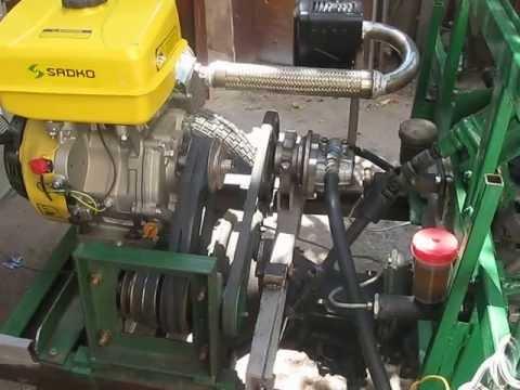 Гидравлика для самодельного трактора
