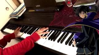 【Piano】Code Geass OP1 - Colors by FLOW