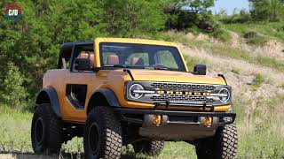 homepage tile video photo for See the New 2021 Ford Bronco and Bronco Sport in Action