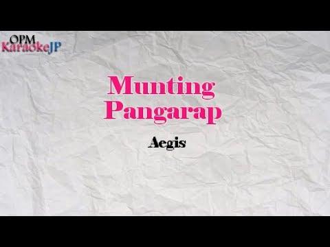Munting Pangarap (Karaoke) - Aegis
