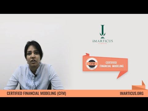 Certified Financial Modelling - Introduction