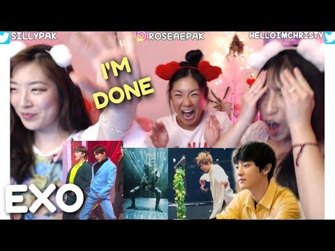 EXO Members Solos & Collabs SISTERS REACTION | ARE YOU MY EXO-LMATE? (THE FINALE Day 25)
