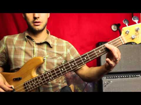 Buffalo Soldier Bass Lesson - Bob Marley - Beginner And Intermediate