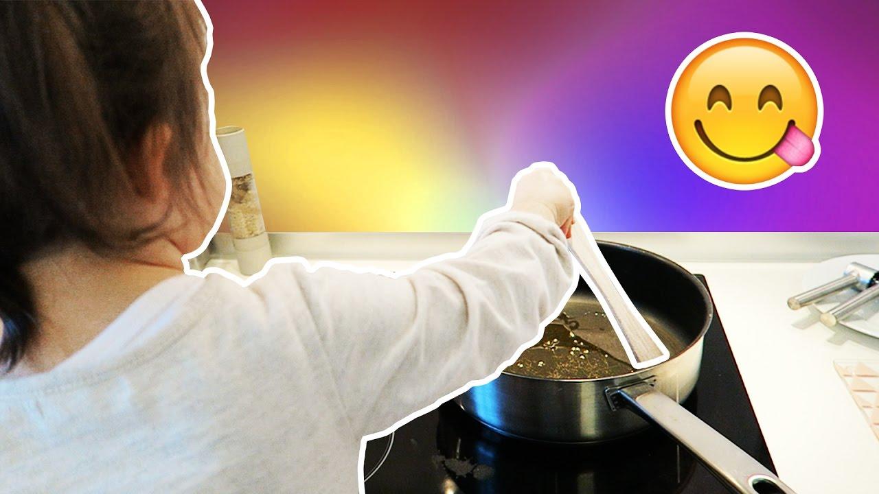 ❥ 435 - mila cuisine ! 😳 | milababychou vlog - youtube