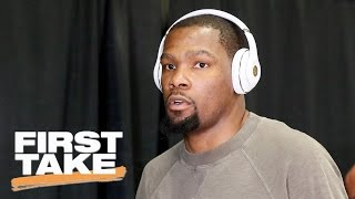 Stephen A. Smith Calls Kevin Durant Disrespectful | First Take | May 22, 2017