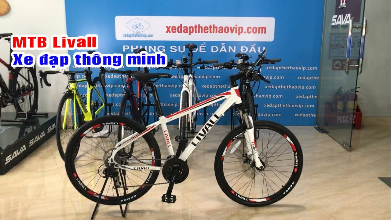 MTB Livall O2 Tích hợp công nghệ kết nối với Smart phone Tuyệt đỉnh   Trùm xe đạp 098 331 5936