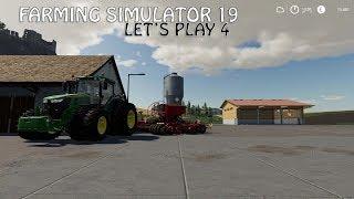 Farming Simulator 19 Let's Play 4 - NYT GREJ PÅ GÅRDEN