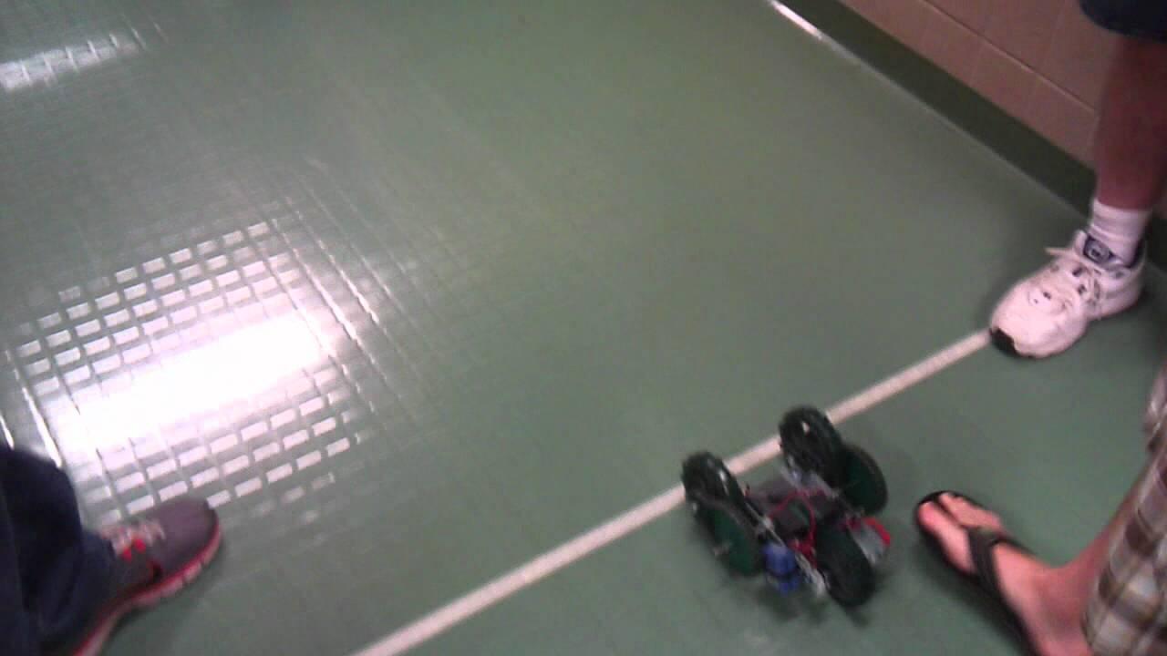 Vex Robotics Car Design Race Youtube