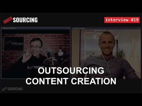 #19 - Kristjan Raude: Outsourcing Content Creation