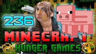 Minecraft: Hunger Games w/Mitch! Game 236 - PIGGY POWER!