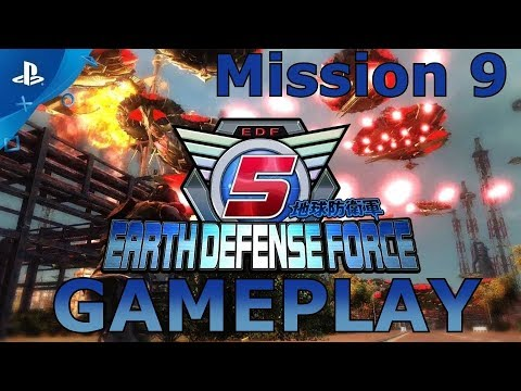 EARTH DEFENSE FORCE 5 - Mission 9. Wedge of Destruction thumbnail