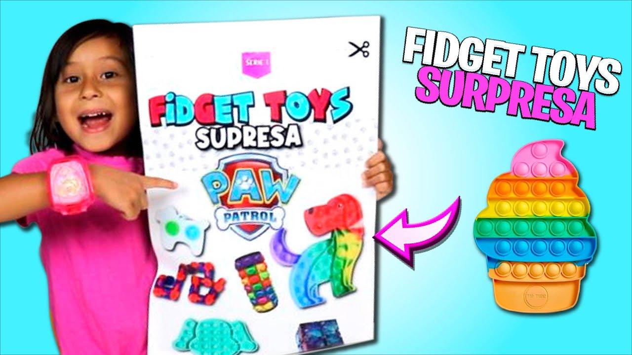 ABRINDO FIDGET TOYS SURPRESA | TROCA DE FIDGET TOYS!!