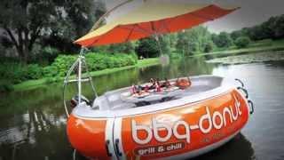 видео Лодка-гриль
