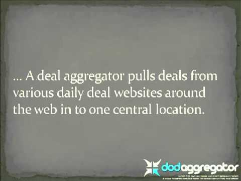 Daily Deal Aggregator  Software