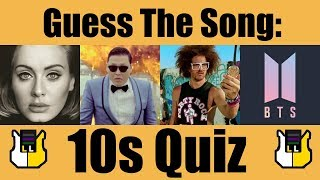 Guess The Song: 10s! | QUIZ