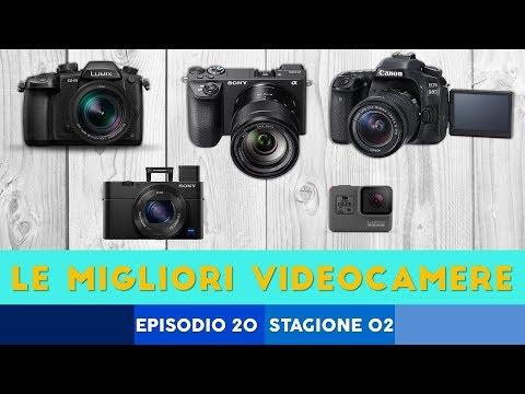 Le MIGLIORI videocamere (2017)