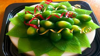 Hướng dẫn làmTRẦU CAU bằng rau câuHow to make Betel and areca nut by agar agar and jelly