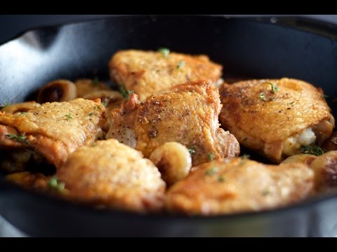 How To Make Cider Brined Roasted Chicken Thighs
