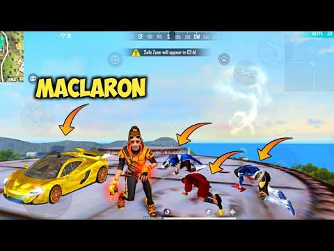 ЁЯФеNew McLaren Skin & Winning Soul Bundle Factory Roof Hard Gameplay - Garena Free Fire