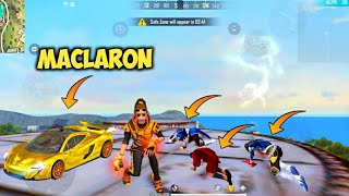🔥New McLaren Skin & Winning Soul Bundle Factory Roof Hard Gameplay - Garena Free Fire