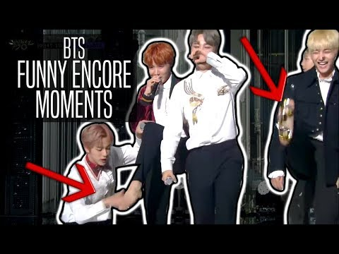 BTS // FUNNY ENCORE MOMENTS
