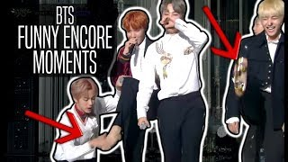 BTS // FUNNY ENCORE MOMENTS