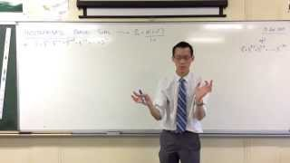 Indeterminate Partial Sums (1 of 2: Finding the length of the series)