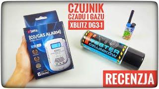 XBLITZ DG3-1 - czujnik czadu i gazu z podwójnym zasilaniem - recenzja test   ForumWiedzy