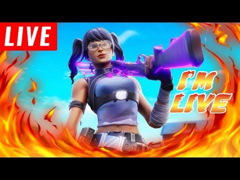 🔴Fortnite Live Stream Hosting 1v1s Against Subscribers Working On My Mechanics