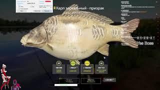 КАРП ЗЕРКАЛКА ПРИЗРАК LE ФРАНЦУЗ RUSSIAN FISHING 4
