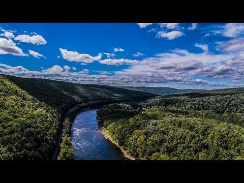 Delaware River Drone