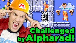 Beating Alpharad's Hardest Levels! | Super Mario Maker 2