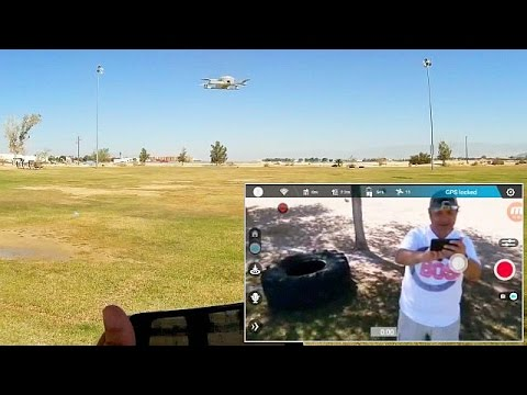 Zerotech Dobby Pocket FPV Selfie Drone Flight Test Review
