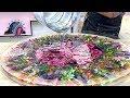 Amazing Table of Flowers and Epoxy resin. Удивительный стол из цветов и эпоксидной  смолы.
