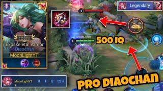 Diaochan Mid Lane Pro Gameplay | Perfect S2 Always | Arena Of Valor Diaochan Moonlight
