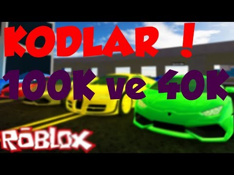 KODLAR !|Roblox Vehicle Simulator|