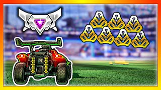 1 Supersonic Legend vs 7 Golds (Most Difficult Rocket League Match)