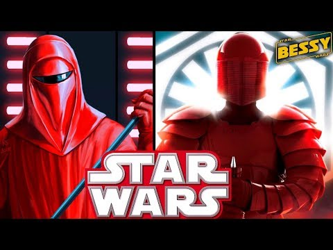 BIGGEST Difference Between Praetorian Guards and Royal Guards(SPOILERS) - The Last Jedi Explained
