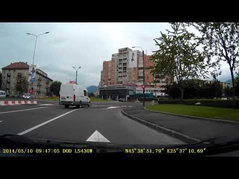 Camera auto DVR DOD LS430W, GPS, Full HD , imediat dupa achizitie Brasov, Magazinul Emag