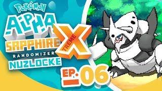 WILD MEGA AGGRON?! - Pokémon Alpha Sapphire Extreme Randomizer Nuzlocke w/ Supra! Episode #06