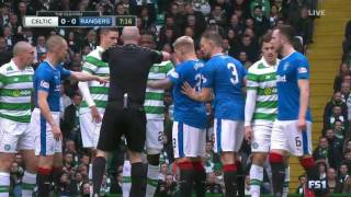 Celtic-Rangers 12.3.2017. full game ( first half )