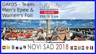 European Championships 2018 Novi Sad Day05 - Piste 7 thumbnail